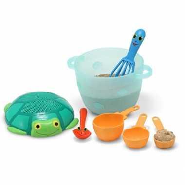 Zandtaartjes speelgoed set
