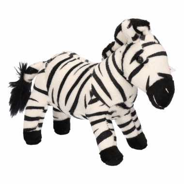 Zebra knuffels 18 cm