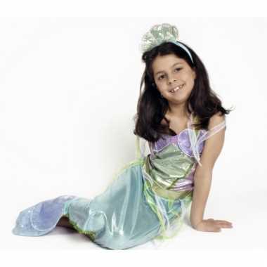Zeemeermin jurk met diadeem