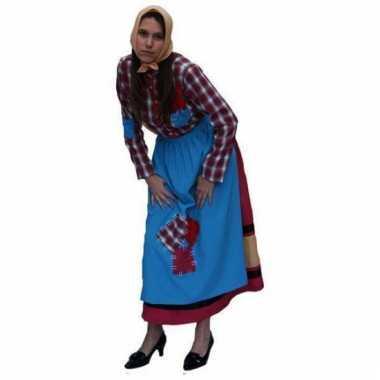 Zigeuner heksen kostuum voor dames