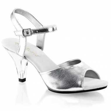 Zilveren dansschoentjes