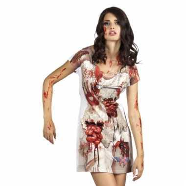 Zombie bruid kostuum jurkje