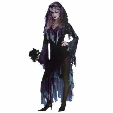 Zombie bruid verkleed kostuum
