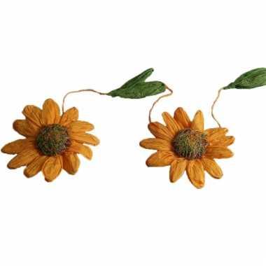 Zonnebloemen versiering