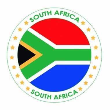 Zuid-afrika vlag print bierviltjes