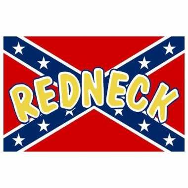 Zuidelijke staten redneck vlag 90 x 150 cm