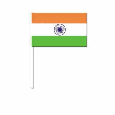 Zwaaivlaggetjes indiase vlag