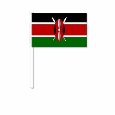 Zwaaivlaggetjes kenia vlag