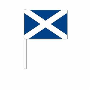Zwaaivlaggetjes schotse vlag