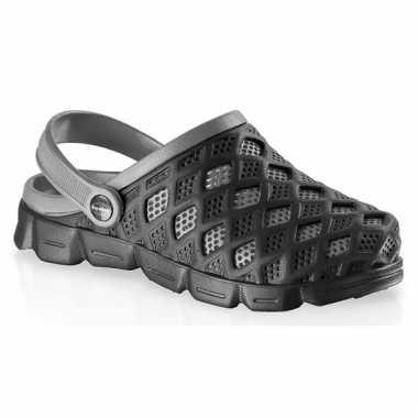 Zwart/grijze water sandalen