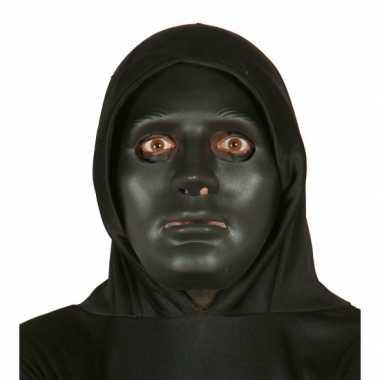 Zwart grimeer masker