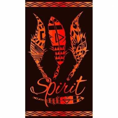 Zwart strandlaken indian spirit 95/100 x 175