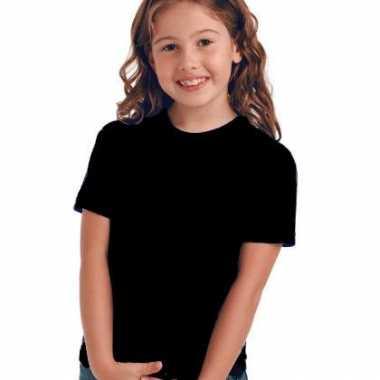 Zwart t-shirt voor kinderen