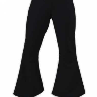 Zwarte dames hippie broeken