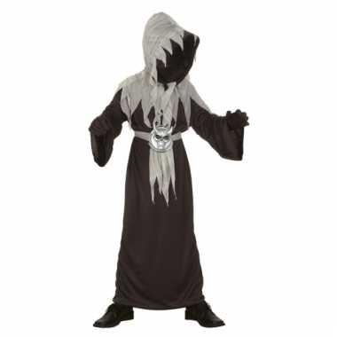 Zwarte demoon kostuum voor kinderen