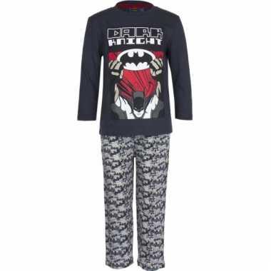 Zwarte kinder pyjama van batman