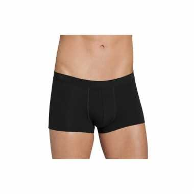 Zwarte korte boxershorts van sloggi