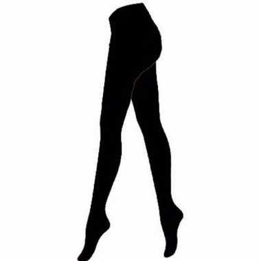 Zwarte pantys/maillots 60 denier voor dames