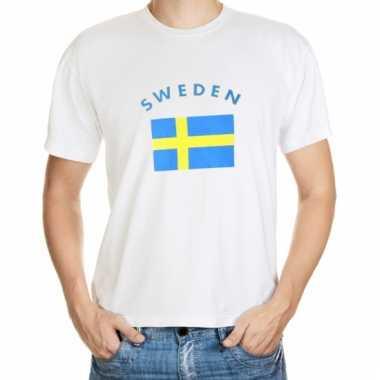 Zweden vlaggen shirts