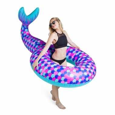 Zwemband met zeemeerminstaart 150 cm