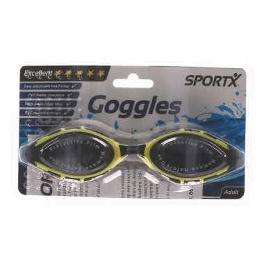 Zwembril voor volwassen anti-chloor