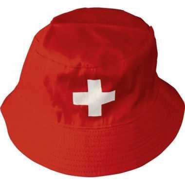 Zwitserland supporters hoedje