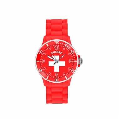 Zwitserland supporters horloge