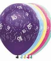 16 jaar versiering helium ballonnen