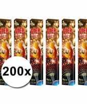 200 feest sterretjes
