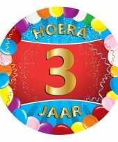 3 jaar verjaardag party viltjes