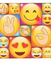 Afgeprijsde 13x koelkast magneten emoji smileys emoticons type 4