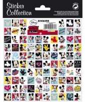 Afgeprijsde 2 vellen mini stickers mickey mouse