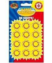 Afgeprijsde 36x speelgoed pistool plaffertjes 8 schoten