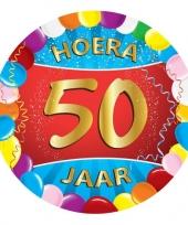 Afgeprijsde 50 jaar verjaardag party viltjes