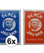 Afgeprijsde 6 stuks kaart spellen