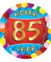 Afgeprijsde 85 jaar verjaardag party viltjes