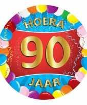 Afgeprijsde 90 jaar verjaardag party viltjes