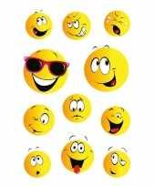 Afgeprijsde 99x smiley stickertjes voor kinderen