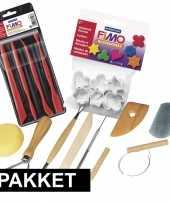 Afgeprijsde boetseren met klei gereedschap pakket