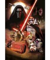 Afgeprijsde decoratie poster star wars episode 7 61 x 91 5 cm