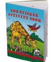 Afgeprijsde dierentuin kleurboeken met puzzels