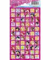 Afgeprijsde disney princess portret stickers