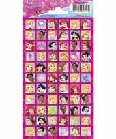 Afgeprijsde disney princess portret stickers