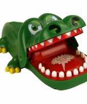 Afgeprijsde familiespel bijtende krokodil