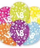 Afgeprijsde feest ballonnen 18 jaar