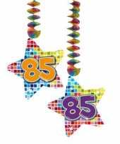 Afgeprijsde hangdecoratie verjaardag 85 jaar