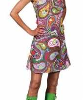 Afgeprijsde hippie jurk carnavalskleding dames