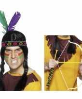 Afgeprijsde indianen verkleedsetje voor volwassenen