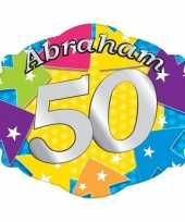 Afgeprijsde kartonnen bord abraham 50