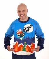 Afgeprijsde kerstmis trui sleigh ride 10095490